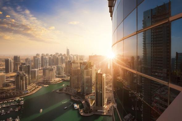 Skyline of Dubai - Marina