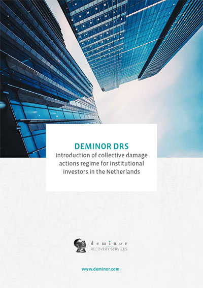 deminor-drs-Introduction-of-collective-damage-actions-regime-for-institutional-investors-in-the-netherlands